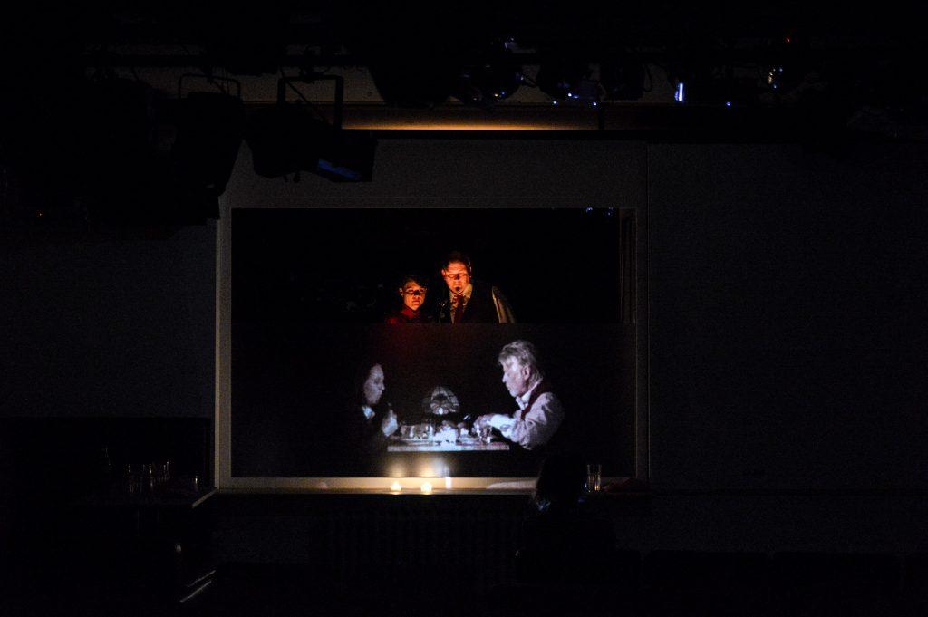 Letzte Nacht nach Stewart O'Nan Regie/Video/Fassung A: Christian Held Saarländisches Staatstheater 2017